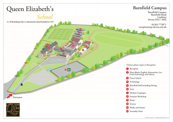 Barnfield Campus Plan